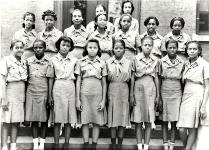 first African-American girl scout troop
