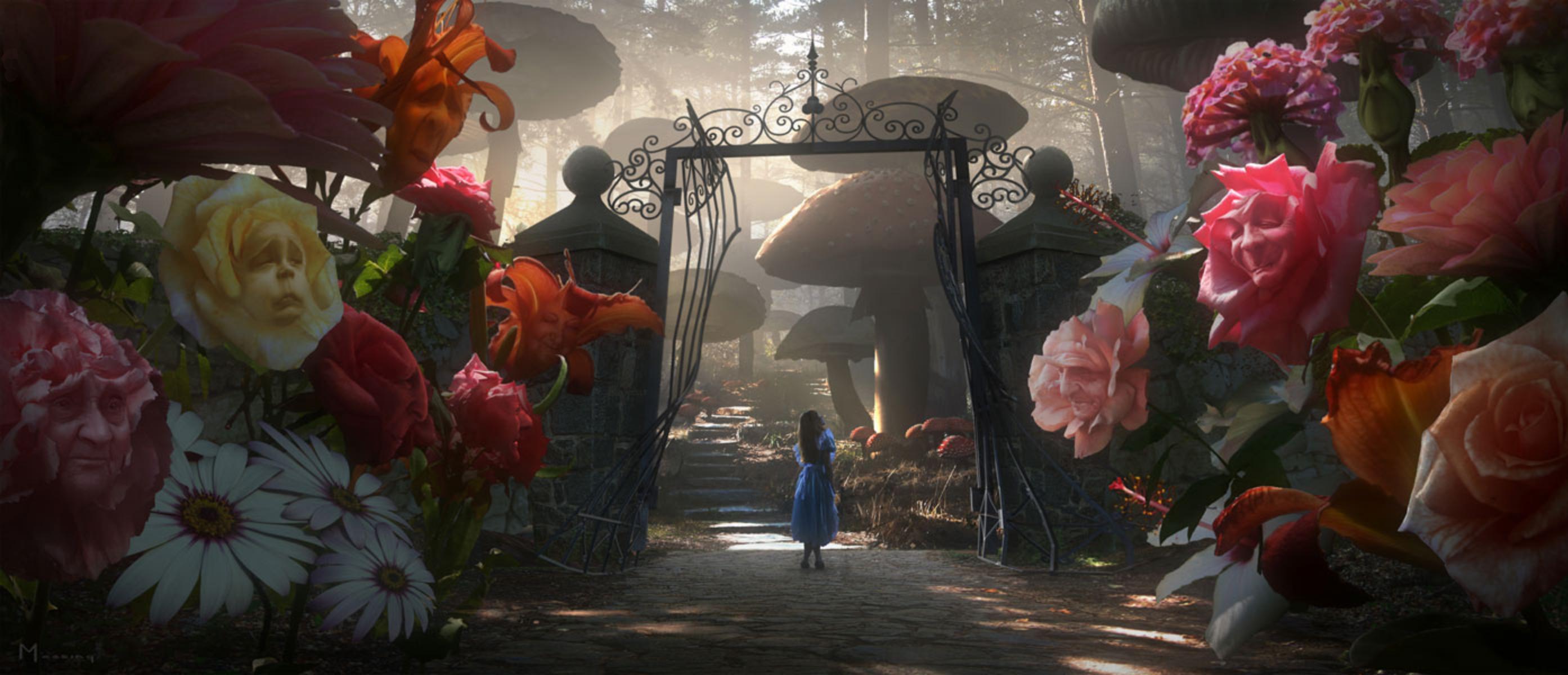 Go Ask Alice Pt I Burton's Alice in Wonderland Review Spoilers